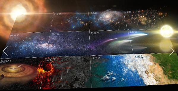 El mítico Calendario Cosmico también regresa